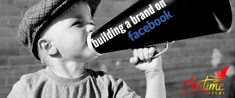 building a brand on facebook