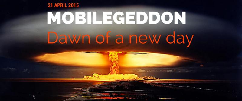 Mobilegeddon - Dawn of a new day blog