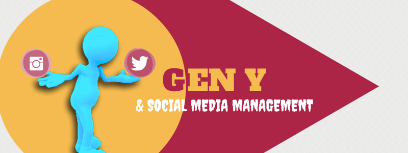 Gen y social media management