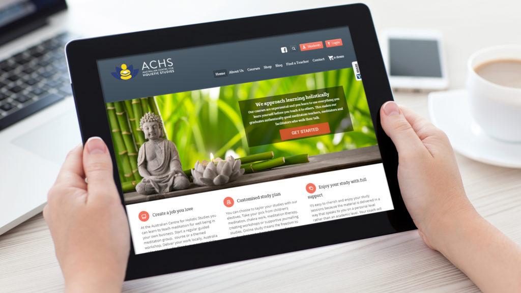 Australian Centre for Holistic Studies Tablet