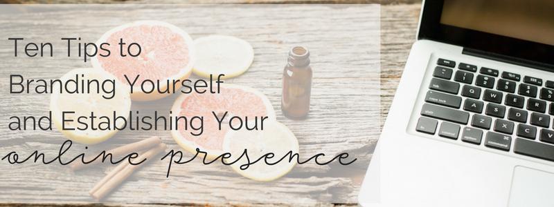 Online presence & branding blog