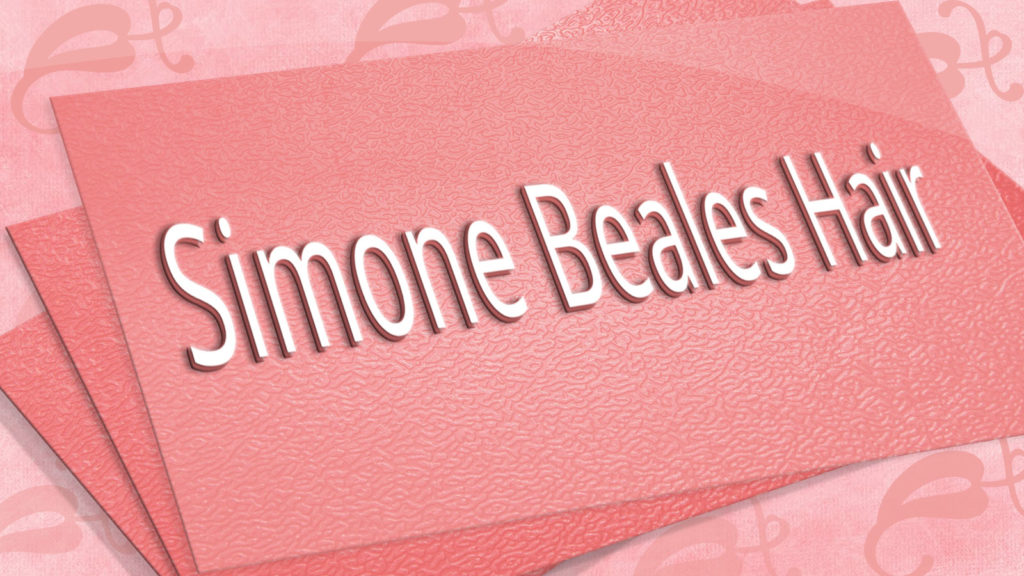 Simone Beales Hair Branding