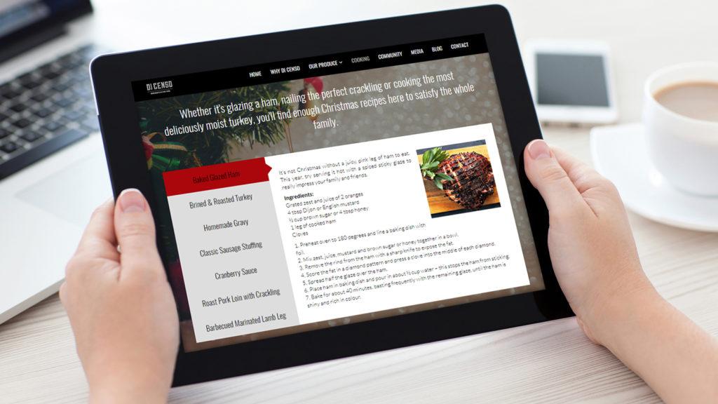 Di Censo Butchers Tablet