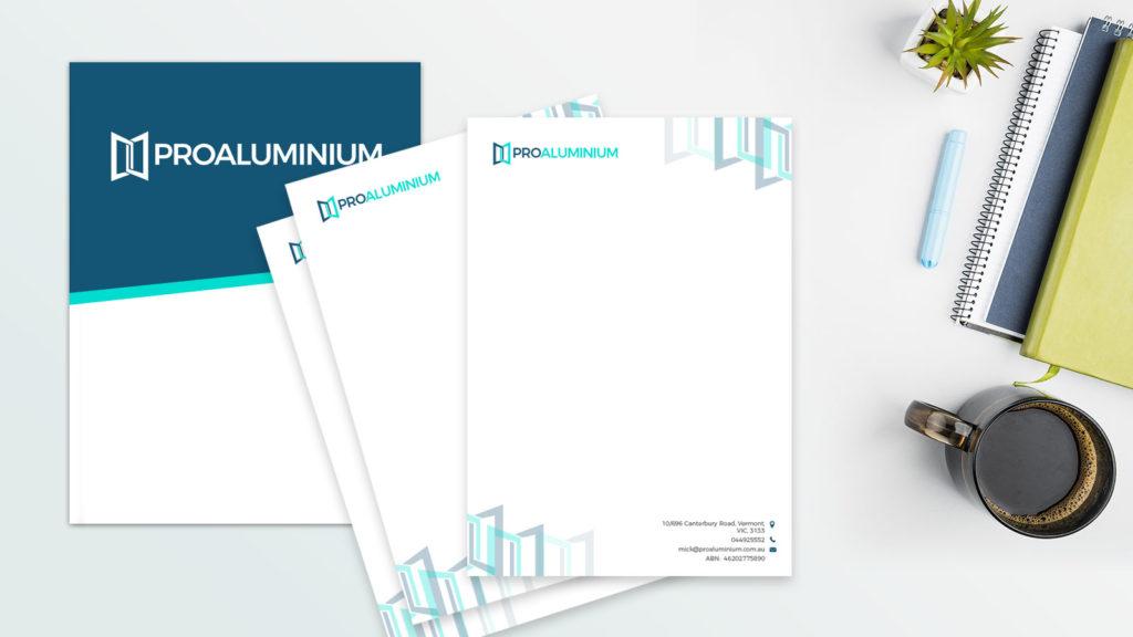 Pro Aluminium Letterhead